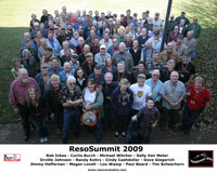 ResoSummit 2009 Group Photo with caption