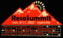ResoSummit 2007 T-shirt Design